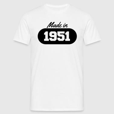 Made in 1951 - Men's T-Shirt