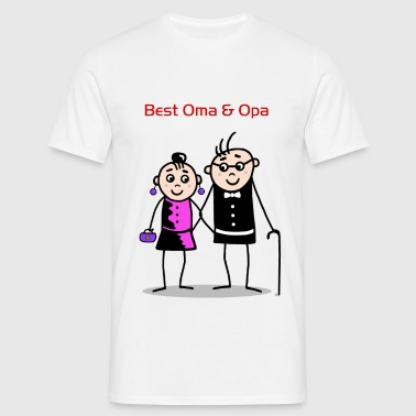 Best Oma & Opa - Men's T-Shirt