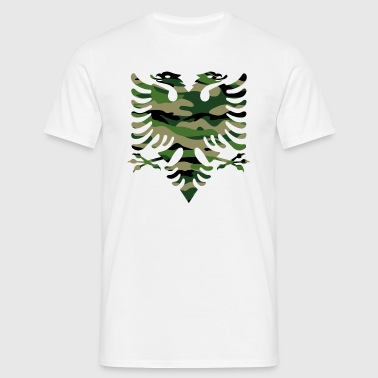 Military flag Albania - Men's T-Shirt