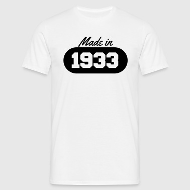 Made in 1933 - Men's T-Shirt
