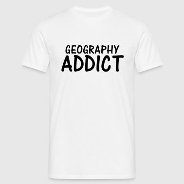geography addict - Men's T-Shirt