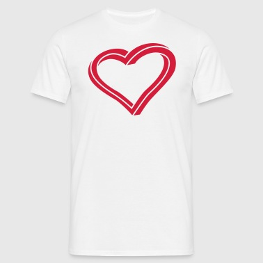 Twisted Heart - Mannen T-shirt