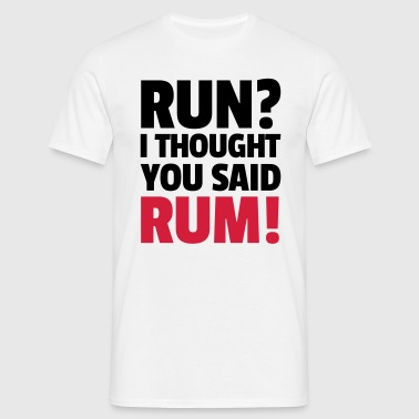 Run? - T-shirt Homme