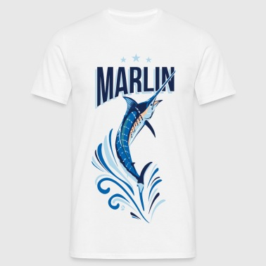 AD Marlin Fishing - T-shirt herr