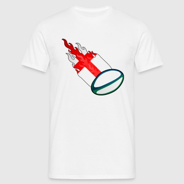 Fireball Rugby England - Men's T-Shirt