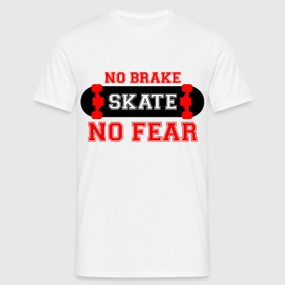 tshirt-NO BRAKE - Men's T-Shirt