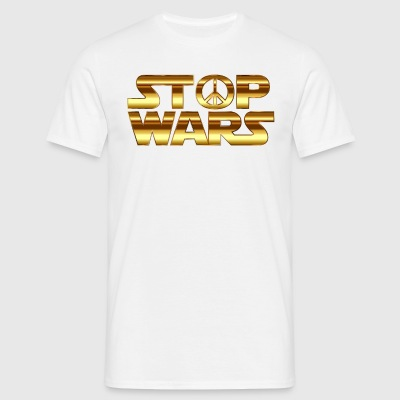 STOP THE WAR COLLECTION - Männer T-Shirt