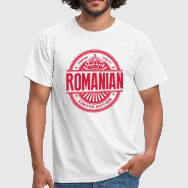 Limited edition romanian premium quality - Men's T-Shirt