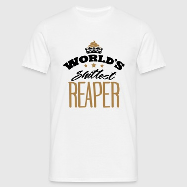 worlds shittest reaper - Men's T-Shirt