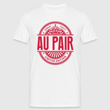 Limited edition au pair premium quality - Men's T-Shirt