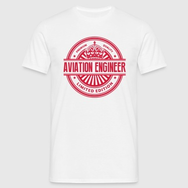 Limited edition aviation engineer premiu - Men's T-Shirt