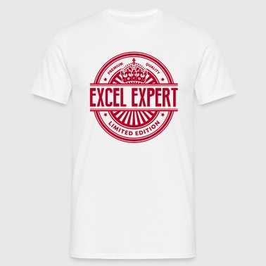 Limited edition excel expert premium qua - Men's T-Shirt