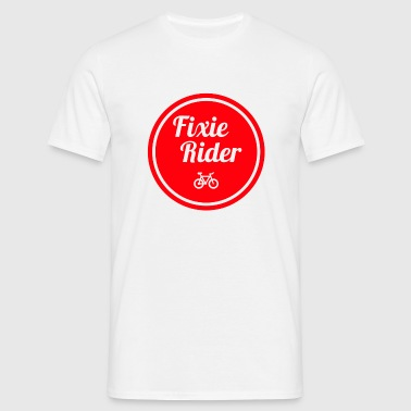 fixie Rider - Men's T-Shirt