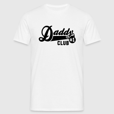 Daddy No1 CLUB - Men's T-Shirt