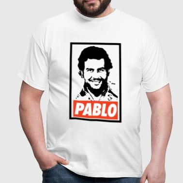 Pablo Escobar Obey - Narcos - Men's T-Shirt