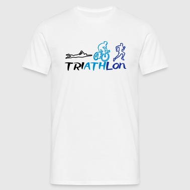 Triathlon Men - T-shirt Homme