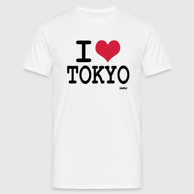 i love Tokyo by wam - T-shirt Homme