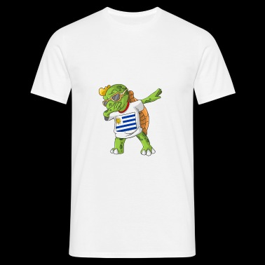 Uruguay tortue tamponnant - T-shirt Homme