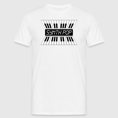 SYNTH-POP MUSIC (2) - Herre-T-shirt