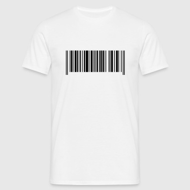 Barcode made in France - Men's T-Shirt