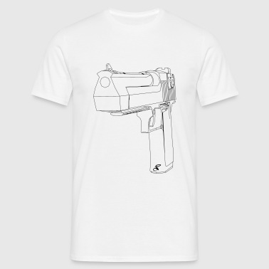 Desert eagle 3d complex - Men's T-Shirt