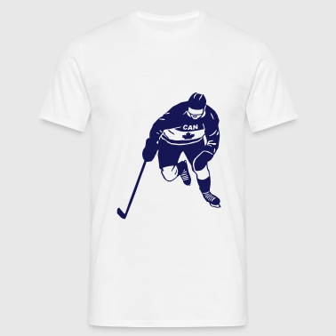 eishockey - ice hockey - kanada - Männer T-Shirt