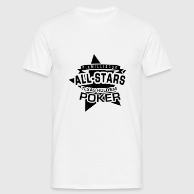 Poker All Stars 1C - T-shirt Homme