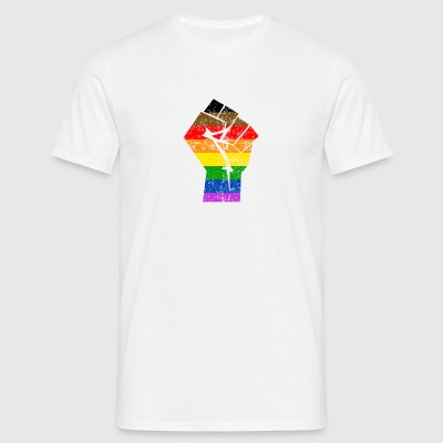 Colormore Fierté LGBT Rainbow Flag Philly - T-shirt Homme
