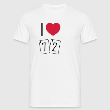 I love 72 - T-shirt Homme
