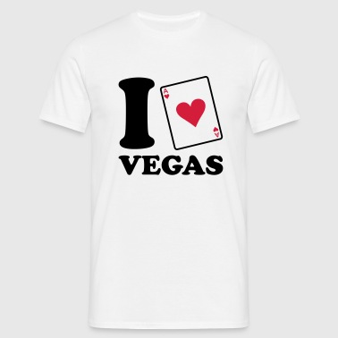I love Vegas - Men's T-Shirt