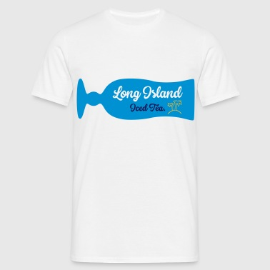 LONG iste ISLAND - COCKTAIL / longdrink - Herre-T-shirt