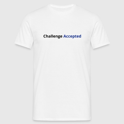 Challenge Accepted - Herre-T-shirt