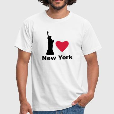 I Love New York - Men's T-Shirt