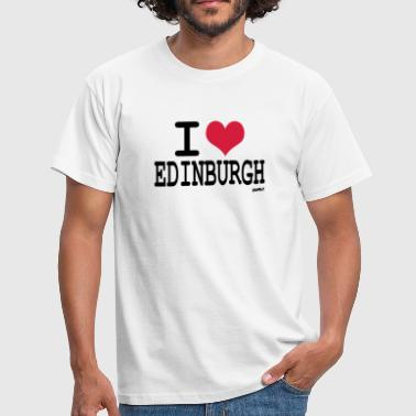 i love edinburgh by wam - Men's T-Shirt