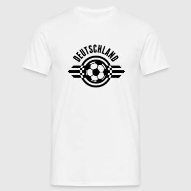 deutschland badge ii 1c - Mannen T-shirt