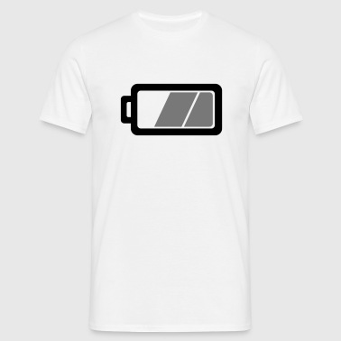 Batteri  - Herre-T-shirt