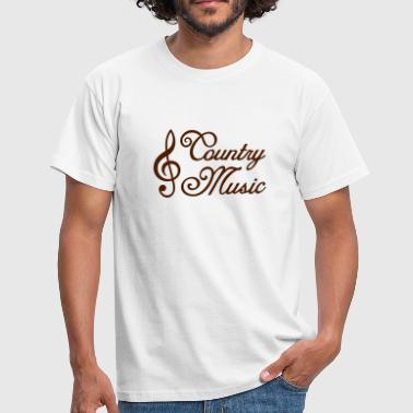 Country Music * countrymusic musique  - T-shirt Homme