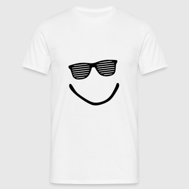 Big Smile - Smiley - Sonnenbrille - Männer T-Shirt