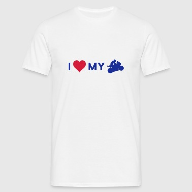 I love my bike - T-shirt Homme