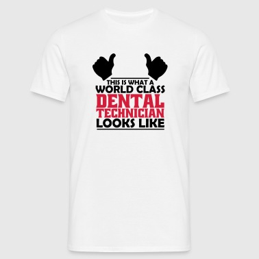world class dental technician - Men's T-Shirt