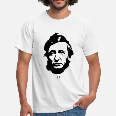 Henry David Thoreau Henry Thoreau libertarian - Men's T-Shirt