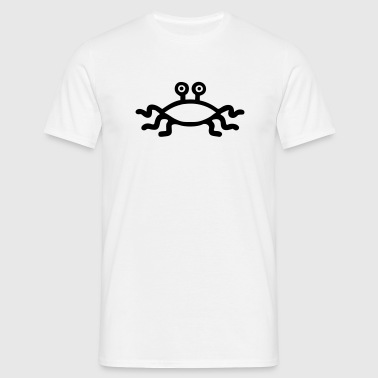 Flying Spaghetti Monster - T-shirt herr