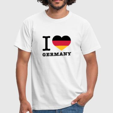 I love Germany - Männer T-Shirt