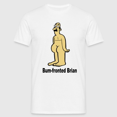 Bum-Fronted Brian - Men's T-Shirt