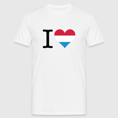 I love Holland - Men's T-Shirt