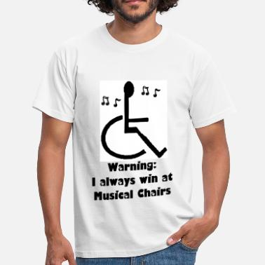Disability Musical Chairs - Men's T-Shirt