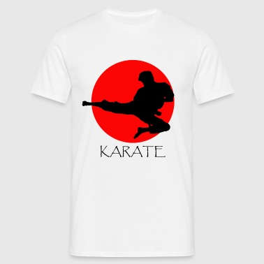 karate - T-shirt herr
