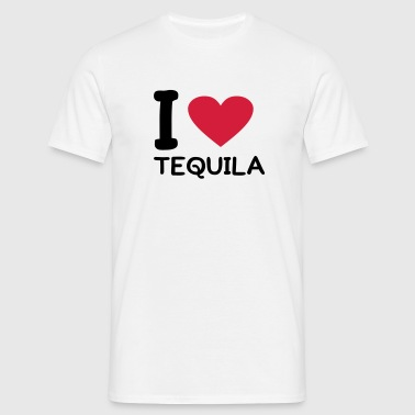 I love Tequila - Herre-T-shirt