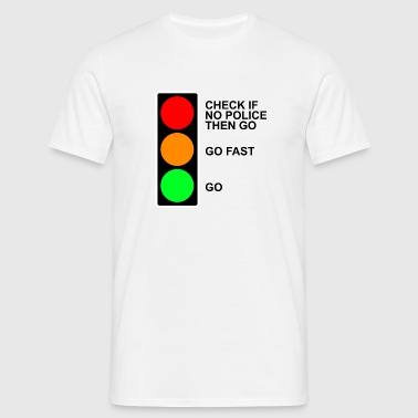 traffic - Men's T-Shirt