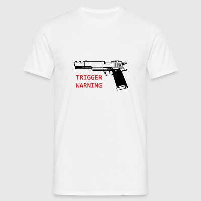 Anti-Snowflake Trigger Warning Collection - Men's T-Shirt
